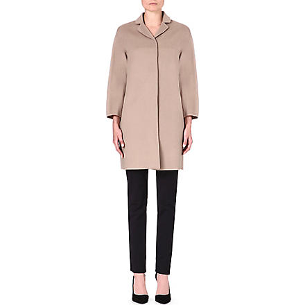 S MAX MARA Nilla wool coat (Beige