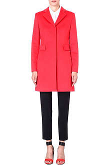 MAX MARA STUDIO Single breast wool coat