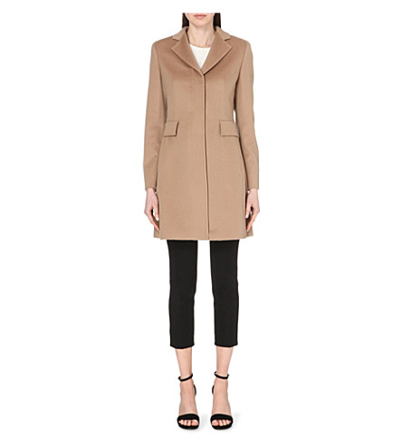 MAX MARA STUDIO Ninetta wool coat (Camel
