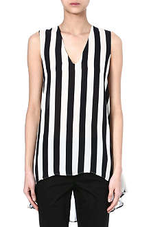 SPORTMAX Novara striped top