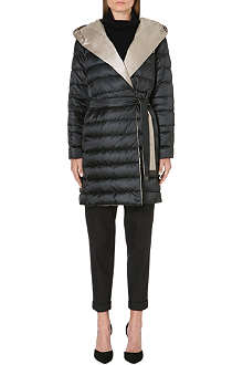 MAX MARA CUBE Contrast-reverse quilted coat