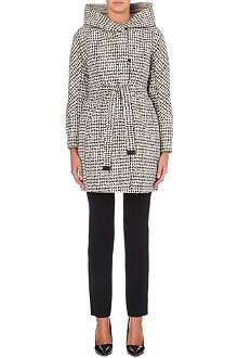 MAX MARA CUBE Reversible quilted graphic-print coat