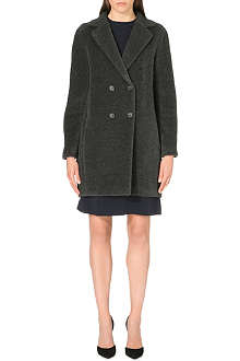 S MAX MARA Alpaca and wool coat
