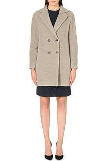 S MAX MARA Long-sleeve alpaca-blend coat