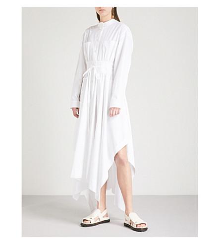 SPORTMAX Oblato cotton dress (White