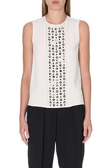 MAX MARA PIANOFORTE Embellished sleeveless top