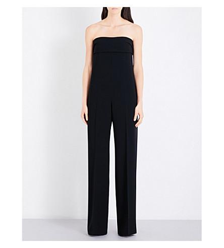 MAX MARA Onda strapless woven jumpsuit (Black