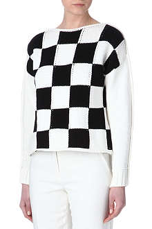 SPORTMAX Ontano checked jumper
