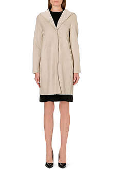 S MAX MARA Opzione hooded shearling coat