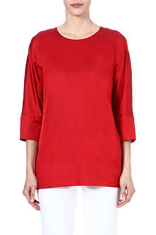 S MAX MARA Cotton-blend top