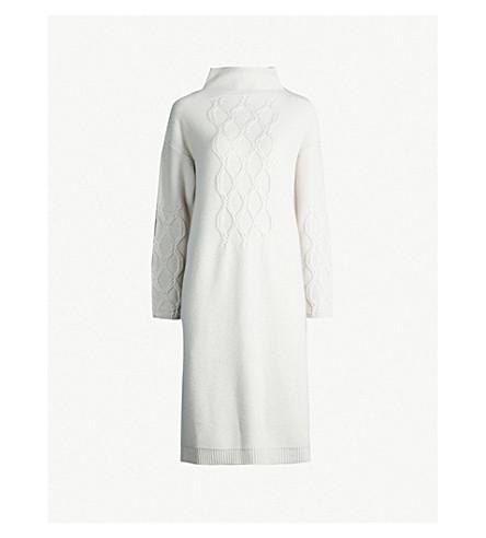 S MAX MARA Orietta 羊毛和羊绒混纺连衣裙 (冰
