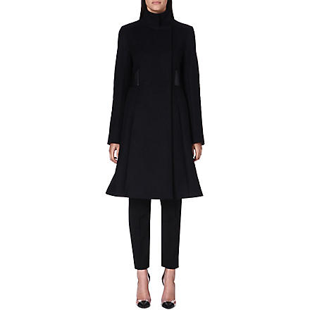 SPORTMAX Orsi belted wool-blend coat (Black