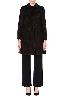 S MAX MARA Ortles faux-fur coat