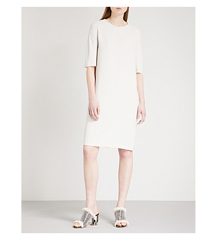 S MAX MARA Ostenda stretch-crepe dress (Ice