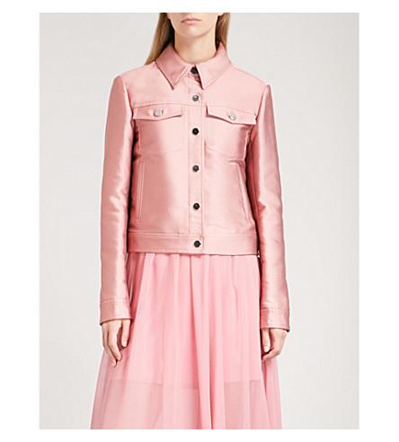 SPORTMAX Paggio denim jacket (Pink