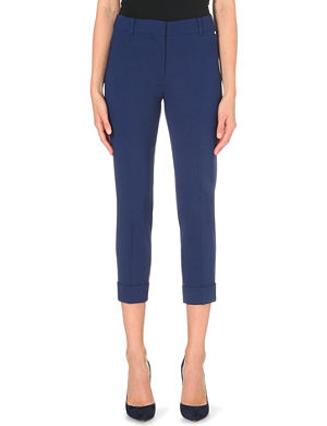 MAX MARA Palermo cropped stretch-wool trousers