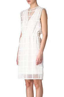SPORTMAX Panama organza dress