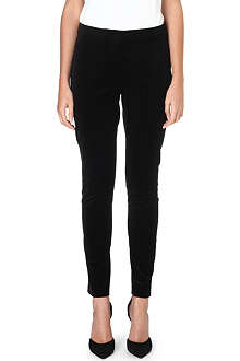 MAX MARA Panda tapered velvet trousers