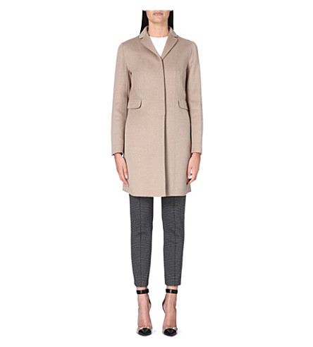 S MAX MARA Papaile wool and angora-blend coat (Camel