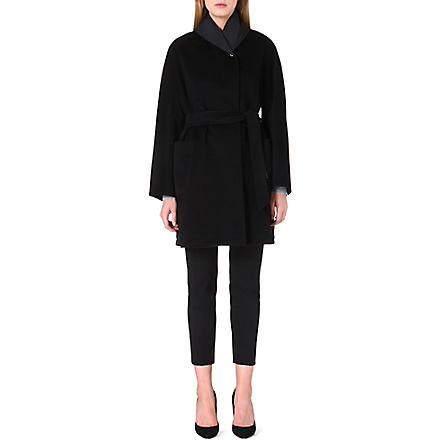 MAX MARA Pausa reversible cashmere coat (Black