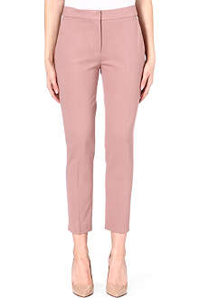 MAX MARA Cropped slim-fit trousers