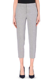 MAX MARA Classic taper crop trousers