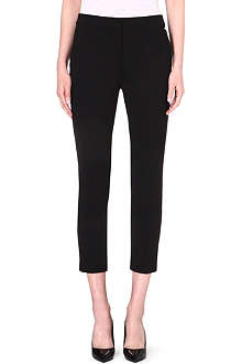 MAX MARA Tapered crepe trousers