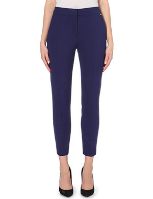MAX MARA Slim-fit cropped stretch-jersey trousers