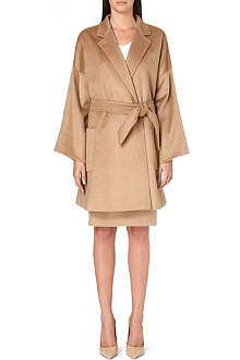 MAX MARA Pelago camel-hair wrap coat