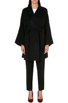 MAX MARA Cashmere short wrap coat