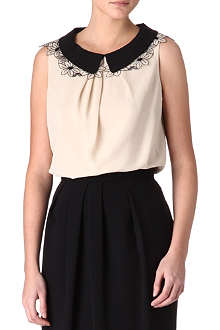 MAXMARA STUDIO Perseo flower-collar top