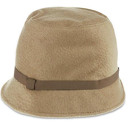 MAX MARA Camel hair hat (Camel