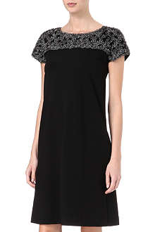 MAX MARA STUDIO Embellished shift dress