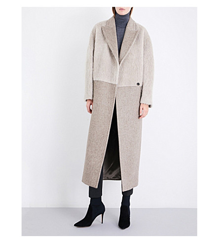 MAX MARA Pietre wool and alpaca-blend coat (Beige
