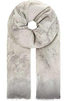 MAX MARA Floral padded scarf