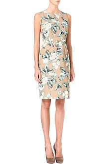 MAX MARA STUDIO Rose print shift dress