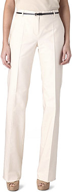 MAXMARA STUDIO Pinte straight-leg trousers