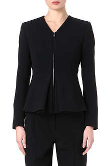 SPORTMAX Peplum zip-up jacket
