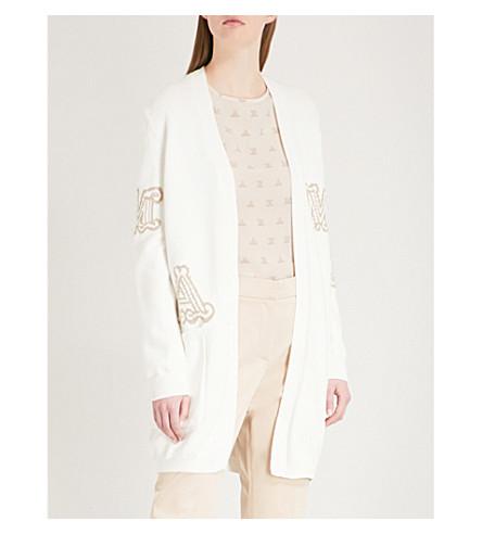 MAX MARA Prince cotton-blend cardigan (Camel