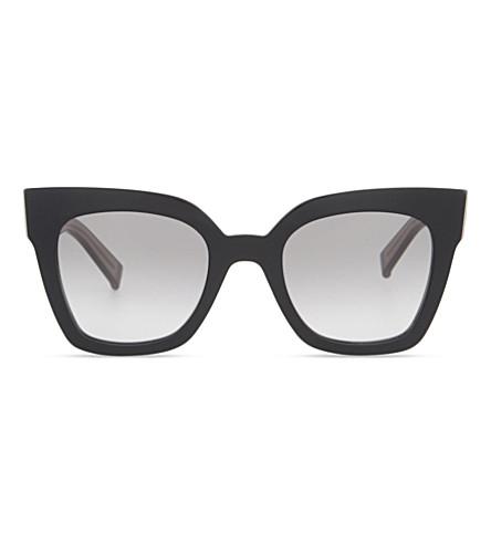 MAX MARA Prism IV square-frame sunglasses (Black