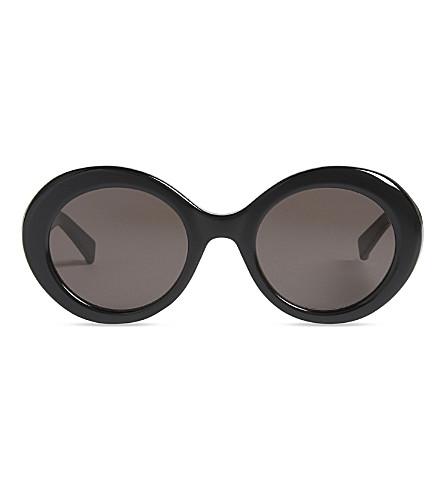 MAX MARA Prism round-frame sunglasses (Black
