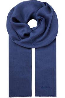 MAX MARA Silk-blend stole scarf