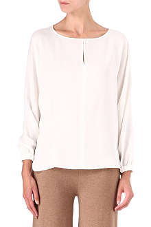 MAX MARA Silk long-sleeve blouse