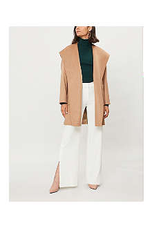 MAX MARA Mmm m coat basic rialto hooded