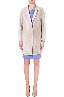 MAX MARA Collarless pea coat