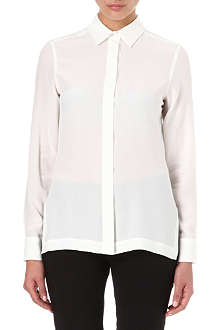 SPORTMAX Long-sleeved silk shirt