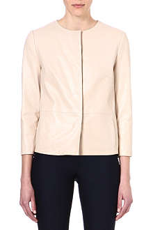 MAX MARA PIANOFORTE Rollio leather jacket