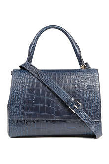 MAX MARA Trapze croc-embossed bag