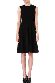 SPORTMAX Flared stretch-jersey midi dress
