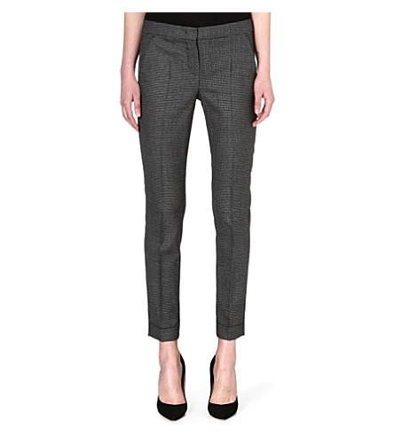 SPORTMAX Samba cropped trousers (Black/grey